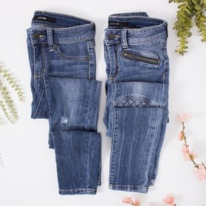 Joes jeans | bundle girls skinny distressed 12